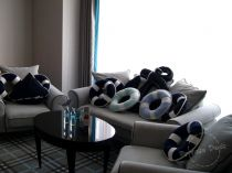 Pillows in Hanza Hotel